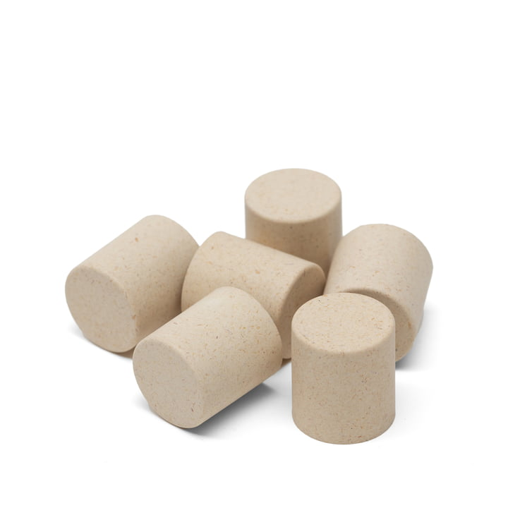 Dots for Scoreboard from We Do Wood in the colour sand (set of 6)