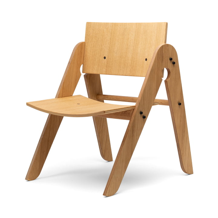 Lilly's Chair from We Do Wood in natural oak