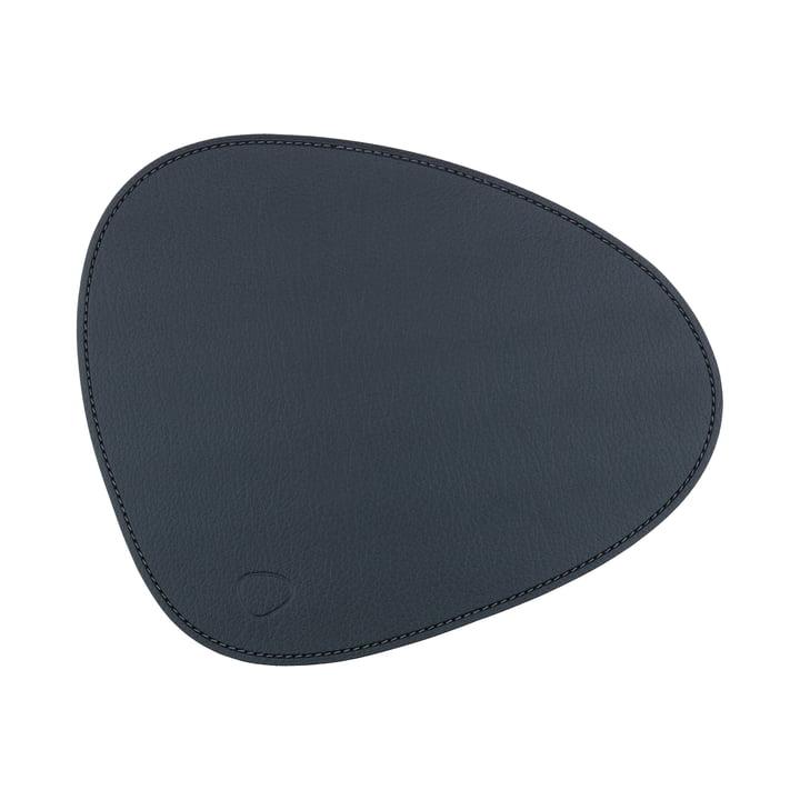LindDNA - Mouse Mat Curve, Bull black / seam anthracite