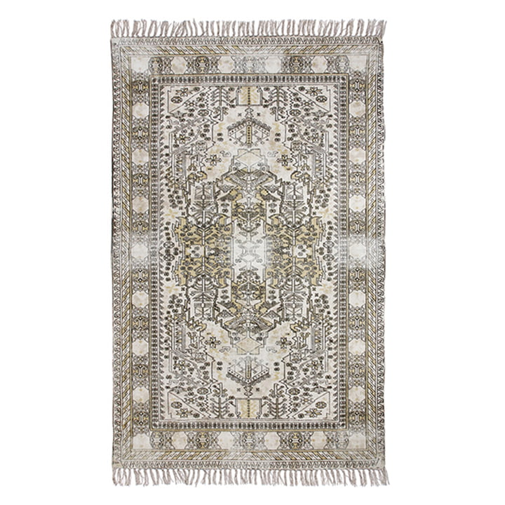 Overdyed cotton rug from HKliving , 120 x 180 cm, sand
