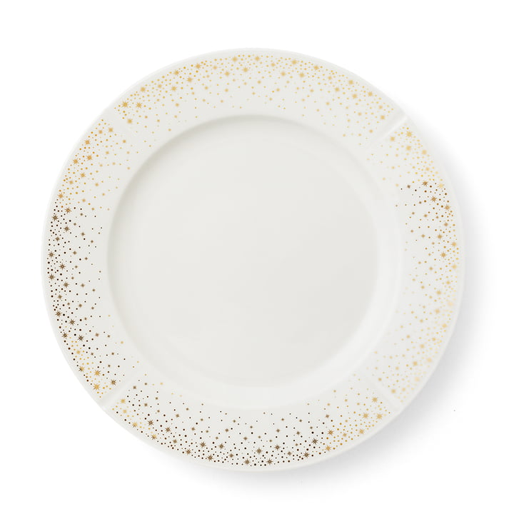 Grand Cru Moments plate Ø 27 cm by Rosendahl white / gold