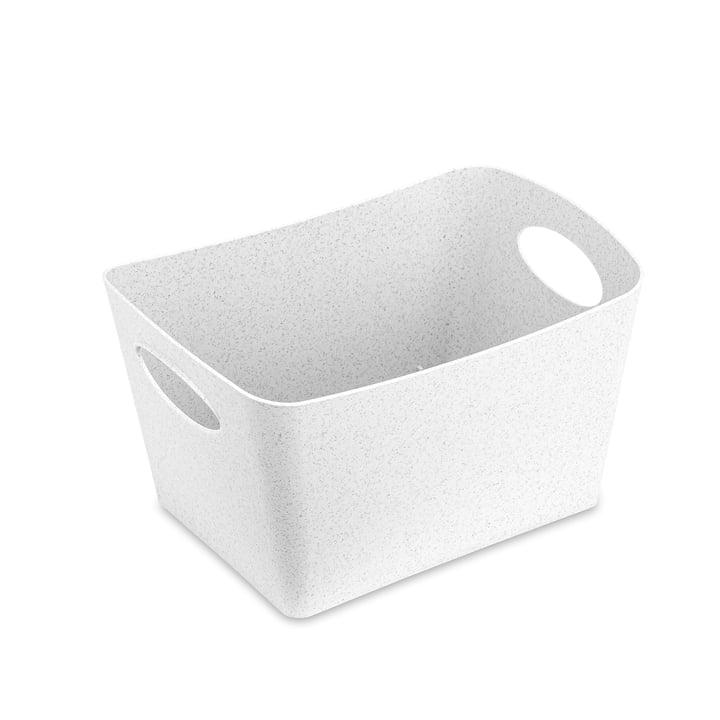 Boxxx S storage box from Koziol in organic white