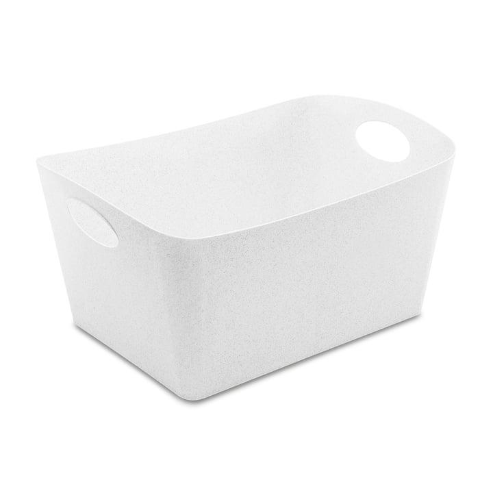 Boxxx L storage box from Koziol in organic white