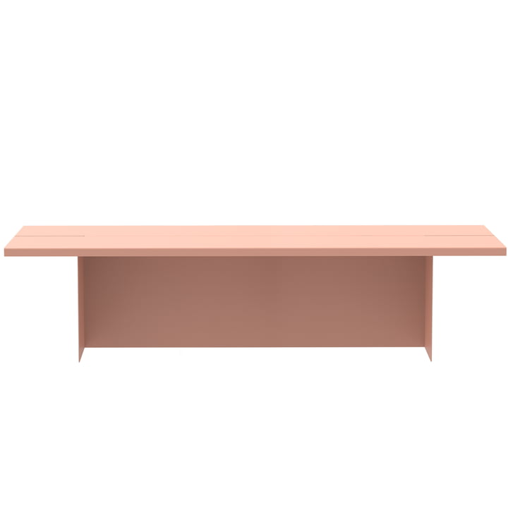 Zebe Bench from Objekte unserer Tage in large apricosa