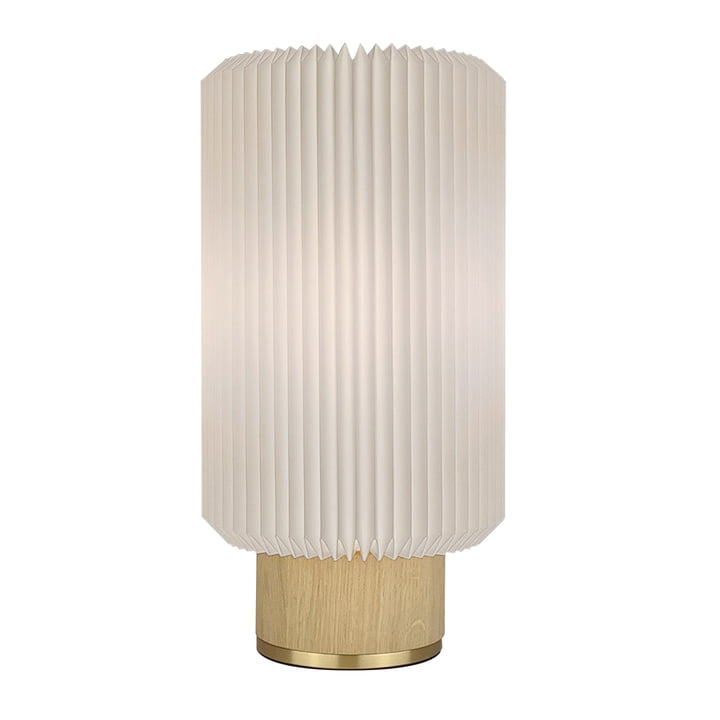 Cylinder Table lamp medium from Le Klint in light oak