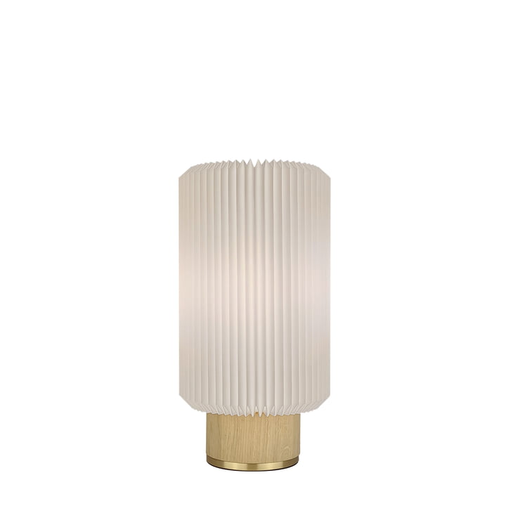 Cylinder Table lamp small from Le Klint in light oak