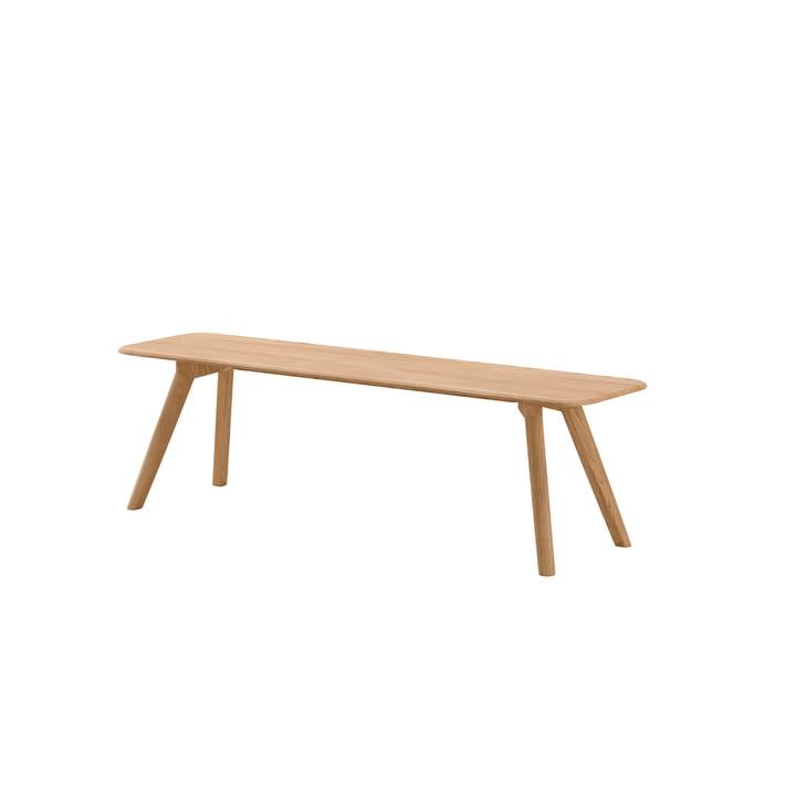 Meyer Bench Medium 160 cm from Objekte unserer Tage in waxed oak