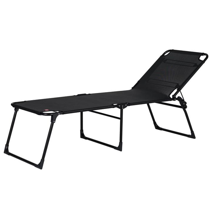 The Amigo 40 + tripod lounger from Fiam , black / black