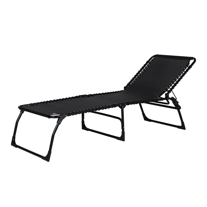 The Amigo XXL three-legged lounger from Fiam , black / black