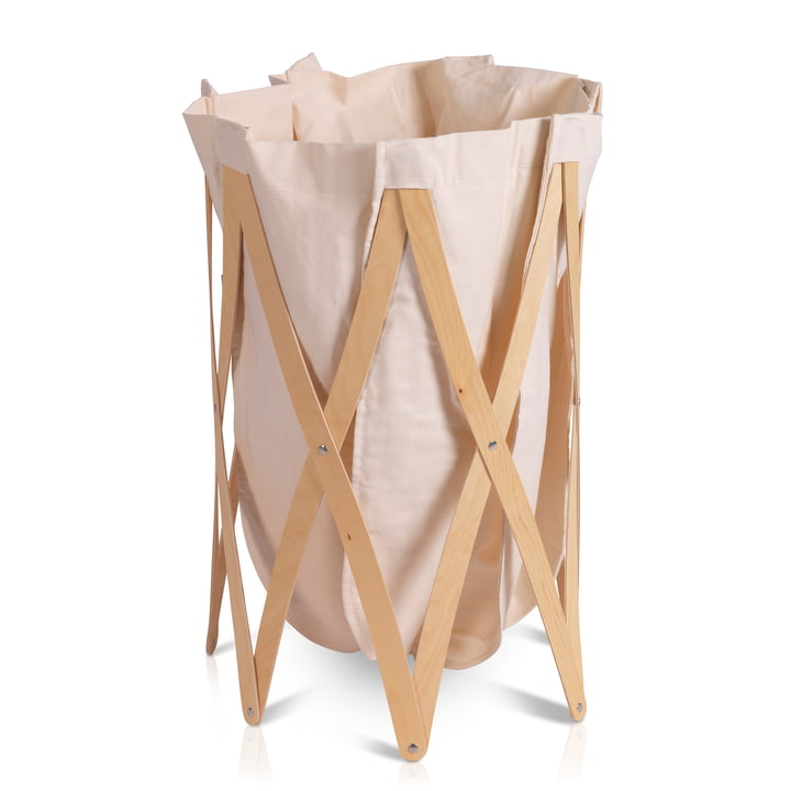 Marie Pi Laundry basket from Klein & More in nature / beige
