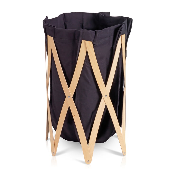 Marie Pi Laundry basket from Klein & More in nature / black