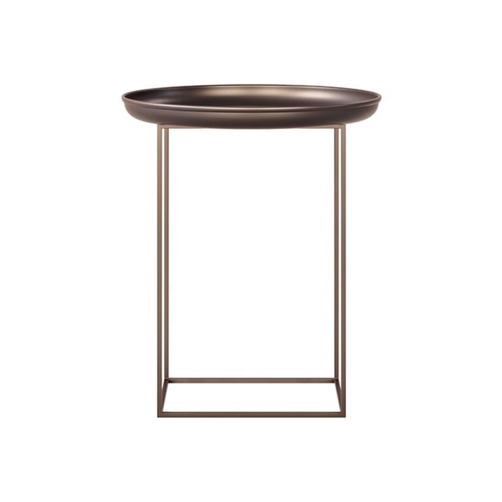 The Duke side table from Norr11 , Ø 45 x H 52 cm, bronze