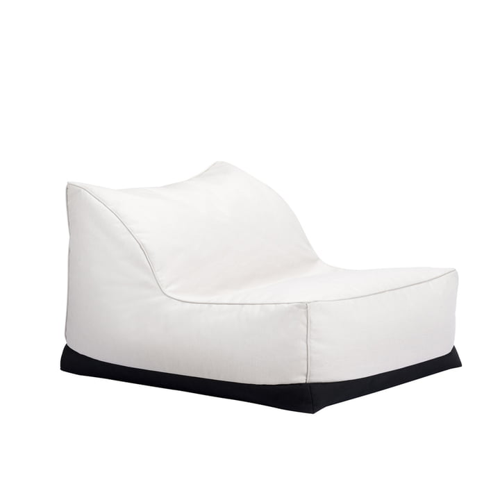 The Storm Outdoor Lounge Chair from Norr11 , 70 x 92 cm, linen chalk