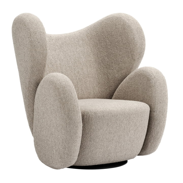 The Big Big Armchair from Norr11 , beige (Barnum - Col 3)