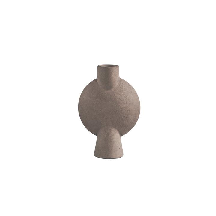 Sphere Vase Bubl Mini from 101 Copenhagen in taupe