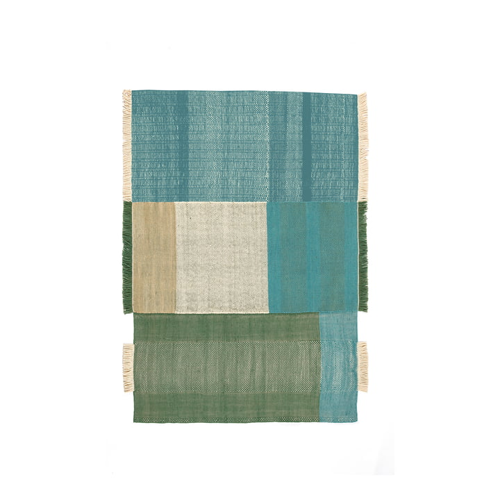Tres Carpet 170 x 240 cm from nanimarquina in green