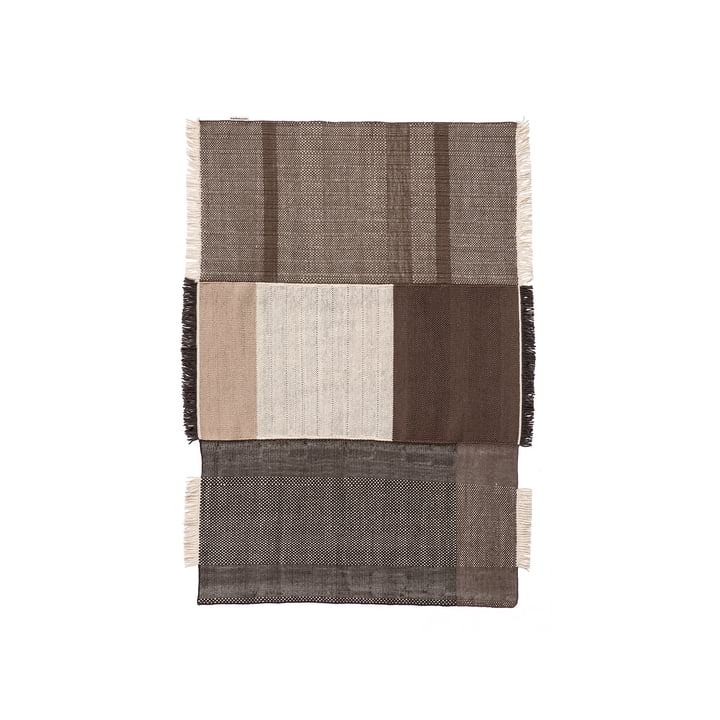 Tres Carpet 170 x 240 cm from nanimarquina in chocolate