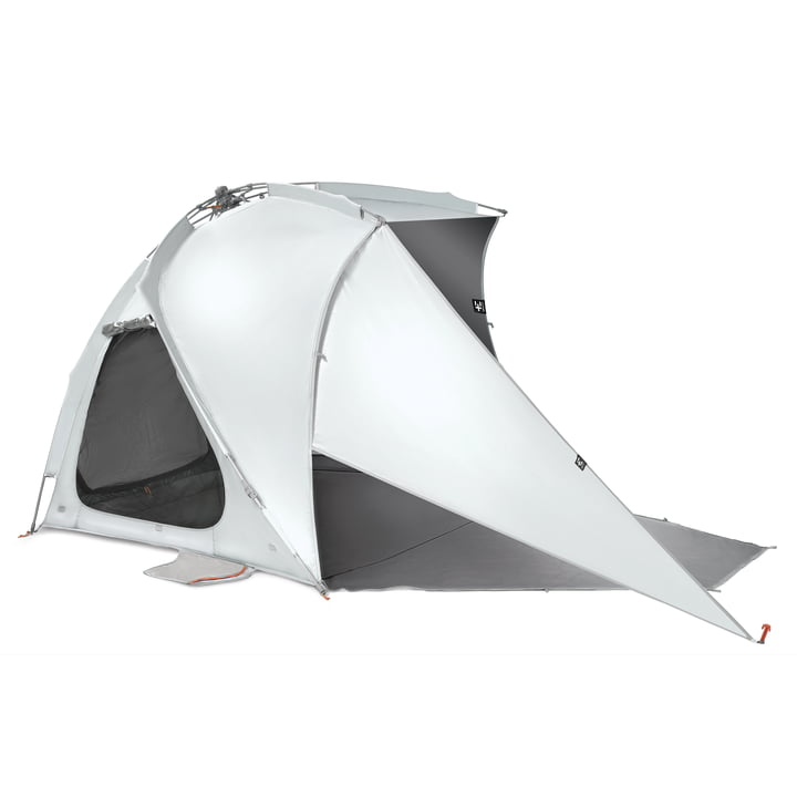 The Kau Kohu Ultra Eclipse sunshade from Terra Nation, frost white