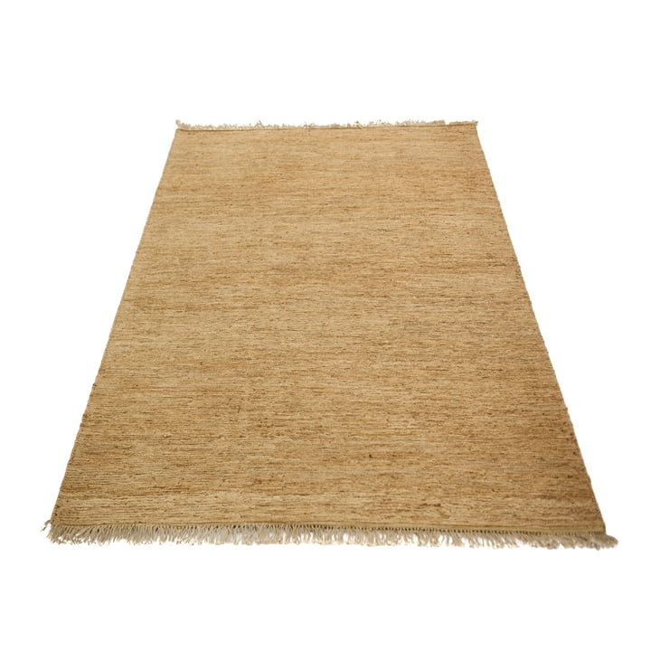 The Sumace carpet with fringes from Massimo , 170 x 240 cm, nature