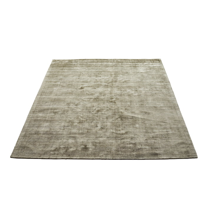 The Karma carpet from Massimo , 160 x 230 cm, olive green
