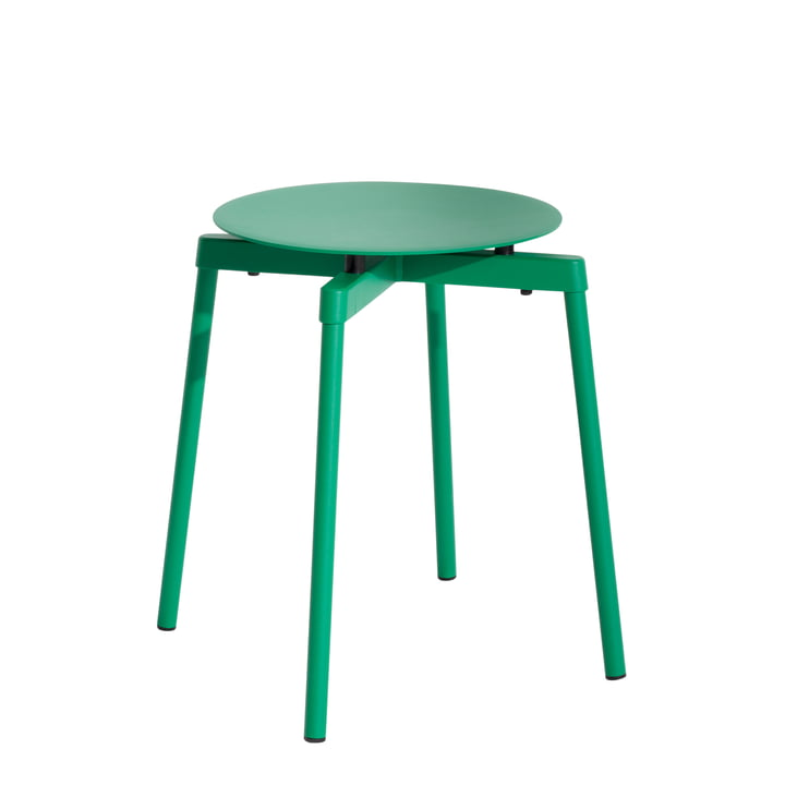 Fromme Stool Outdoor from Petite Friture in mint green