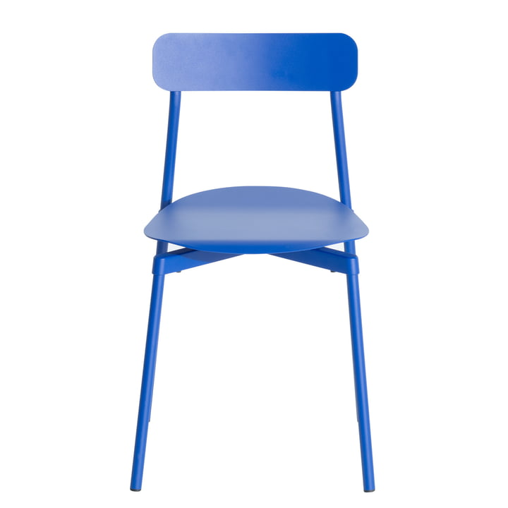 Fromme Chair Outdoor from Petite Friture in blue