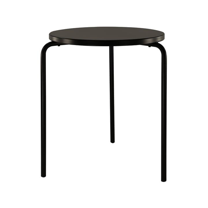 Easy Table Ø 58 cm from Jan Kurtz in black