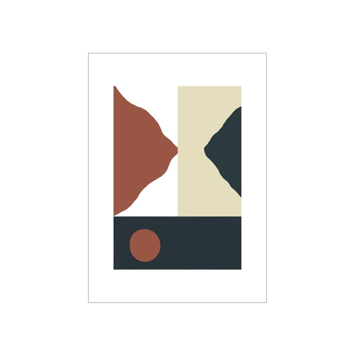 The Big Sur poster from Paper Collective , 50 x 70 cm