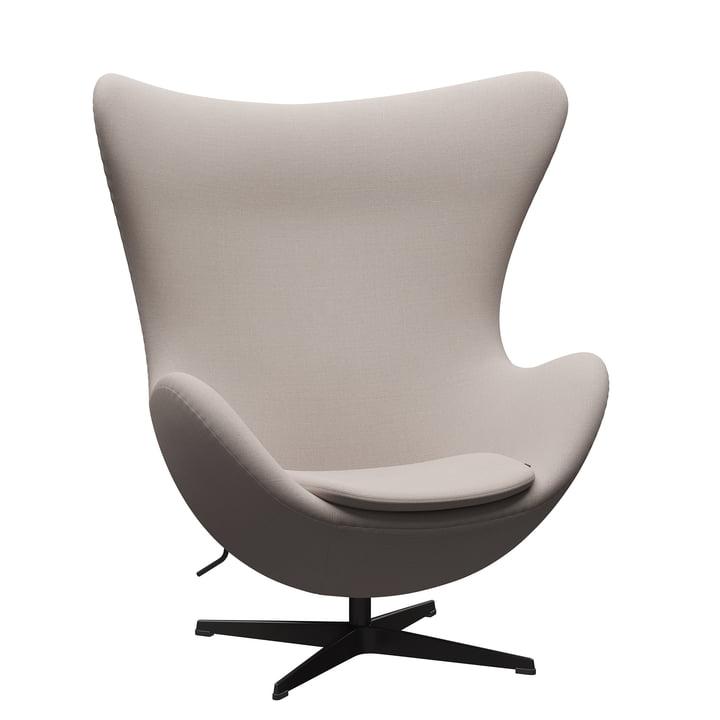 The Egg Chair from Fritz Hansen , warm graphite / Christianshavn 1120 light beige