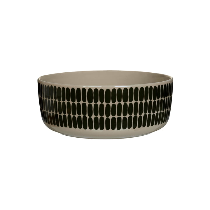 The Alku bowl from Marimekko , 1,5 l terra / green (autumn 2021)