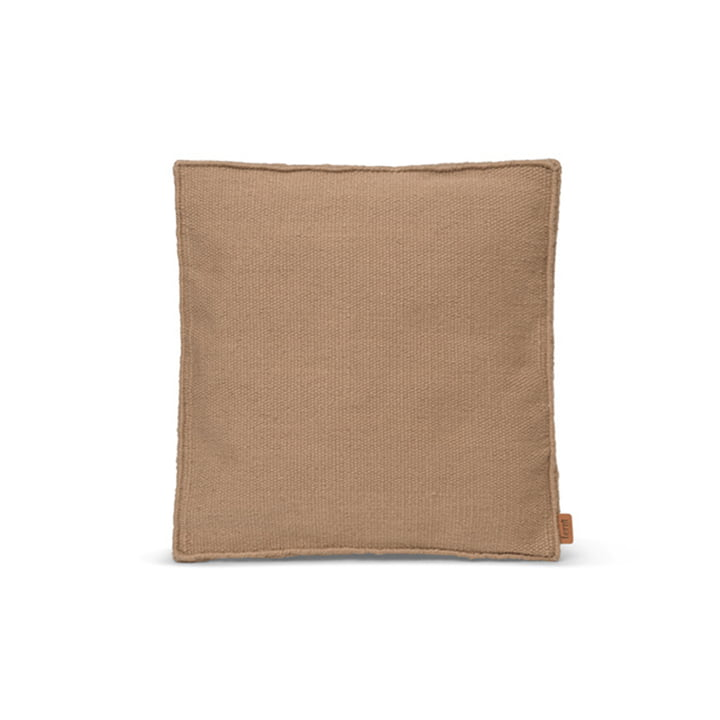 Desert Seat cushion 38 x 38 cm by ferm Living in the color sand