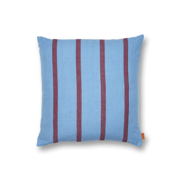 Grand Cushion 50 x 50 cm by ferm Living in blue / burgundy