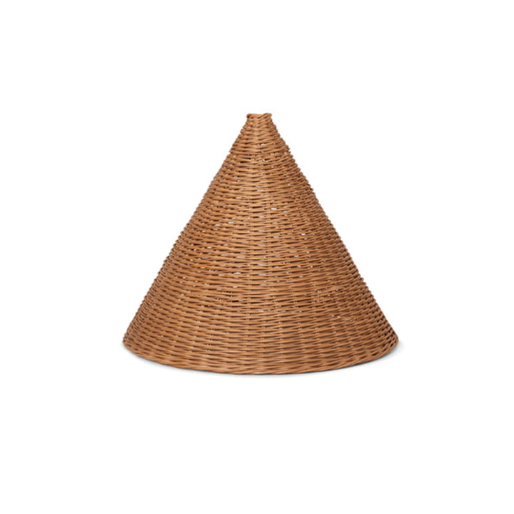 Dou Rattan lampshade Ø 45 cm by ferm Living in nature