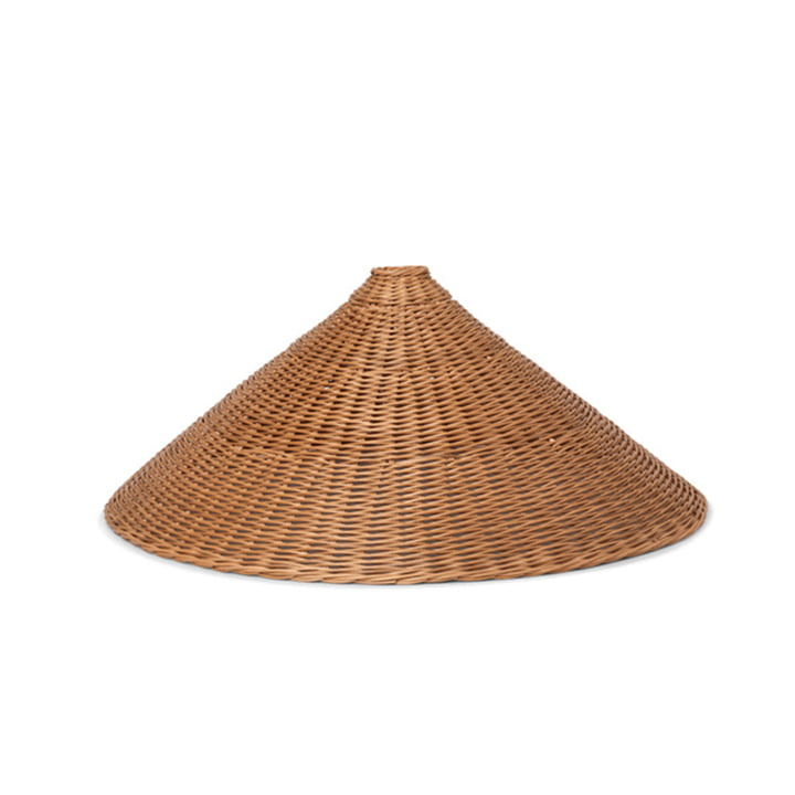 Dou Rattan lampshade Ø 68 cm by ferm Living in nature