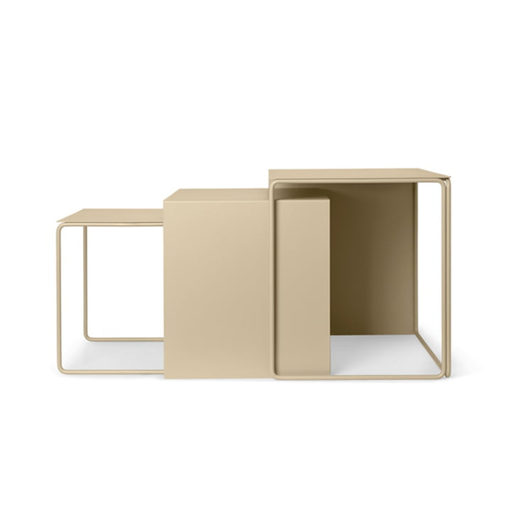 Cluster Tables (set of 3) by ferm Living in cashmere