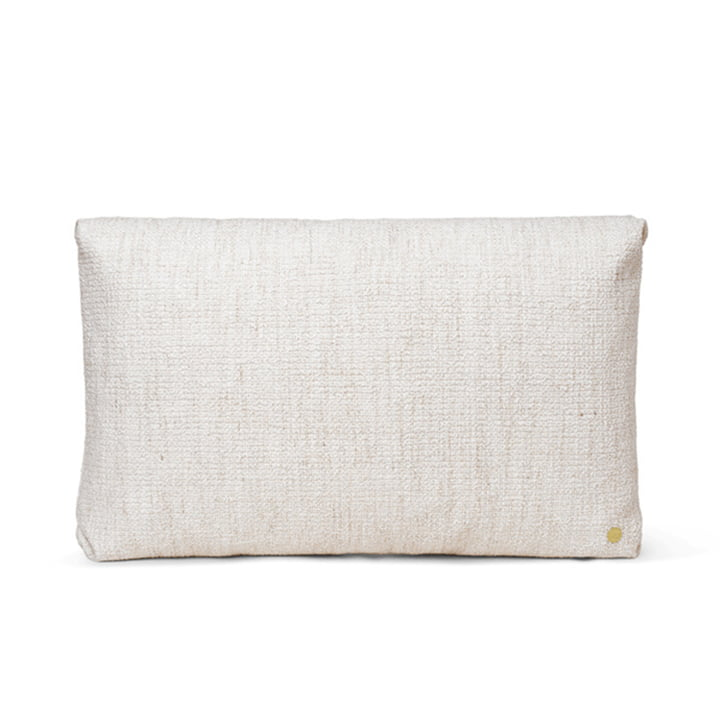 Clean Cushion Boucle 40 x 60 cm by ferm Living in off-white