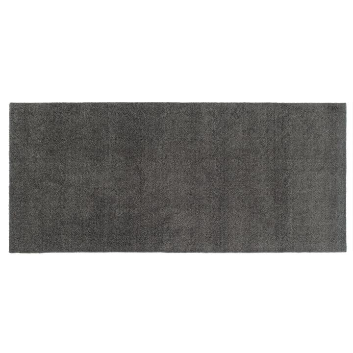 Unicolor doormat 67 x 150 cm from tica copenhagen in steel grey