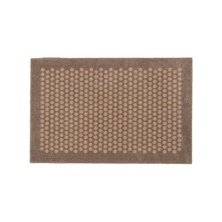 Dot doormat 45 x 75 cm from tica copenhagen in sand / beige