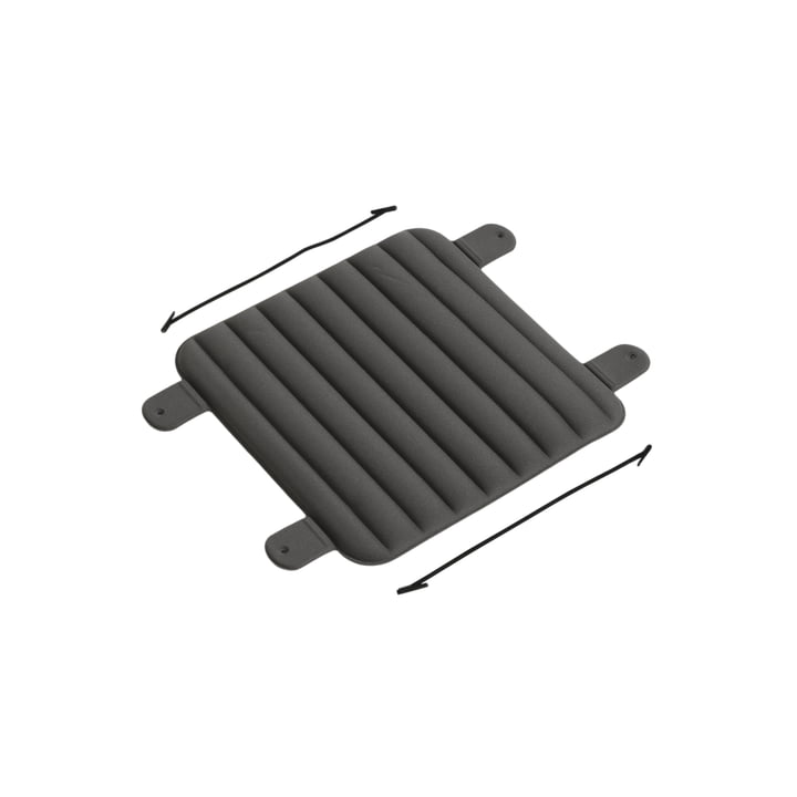 The seat cushion for Week-End chairs from Petite Friture , small, anthracite
