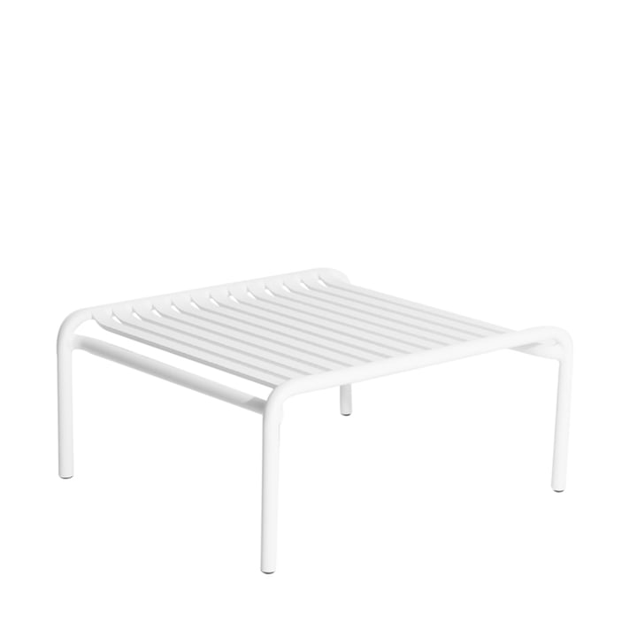 The Week-End coffee table Outdoor from Petite Friture , white