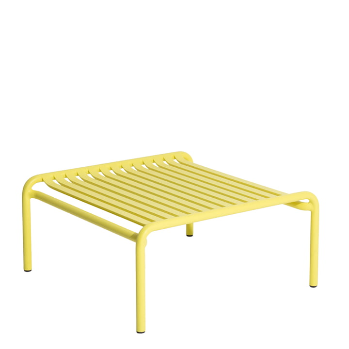 The Week-End coffee table Outdoor from Petite Friture , yellow