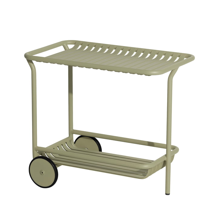 The Week-End Trolley Outdoor from Petite Friture , jade green