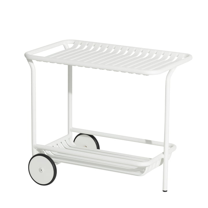The Week-End Trolley Outdoor from Petite Friture , white