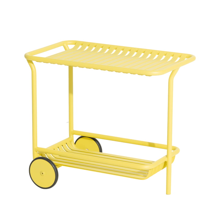 The Week-End Trolley Outdoor from Petite Friture , yellow