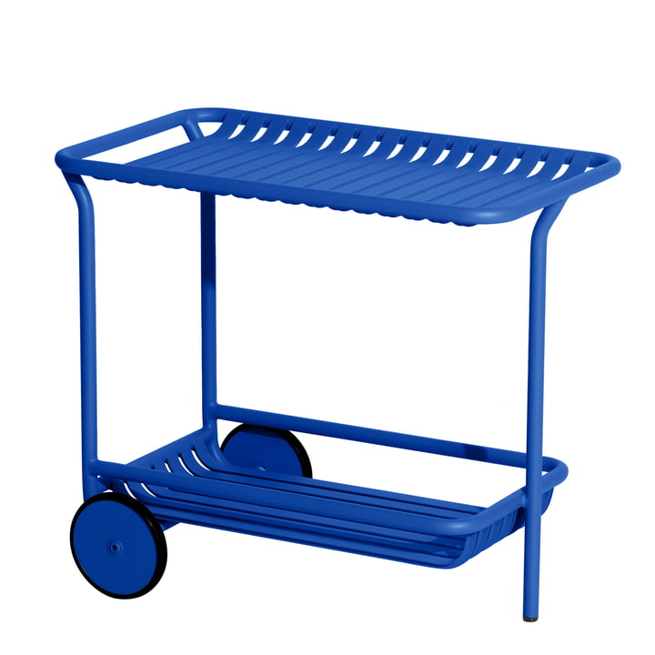 The Week-End Trolley Outdoor from Petite Friture , blue