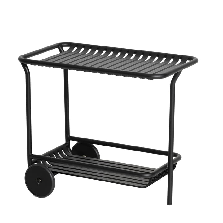 The Week-End Trolley Outdoor from Petite Friture , black