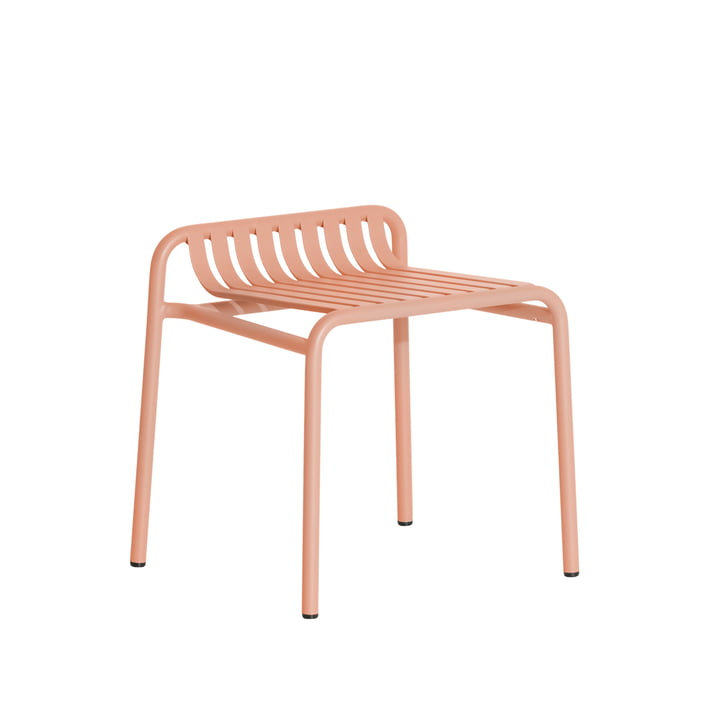 The Week-End stool Outdoor from Petite Friture , blush