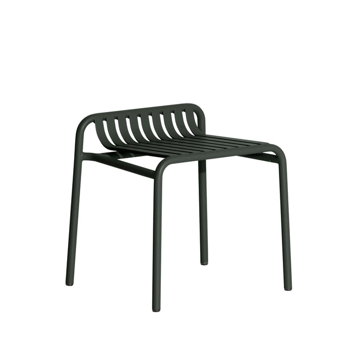The Week-End Stool Outdoor from Petite Friture , glass green