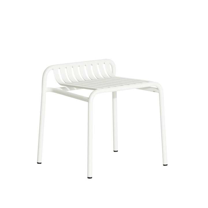 The Week-End Stool Outdoor from Petite Friture , white