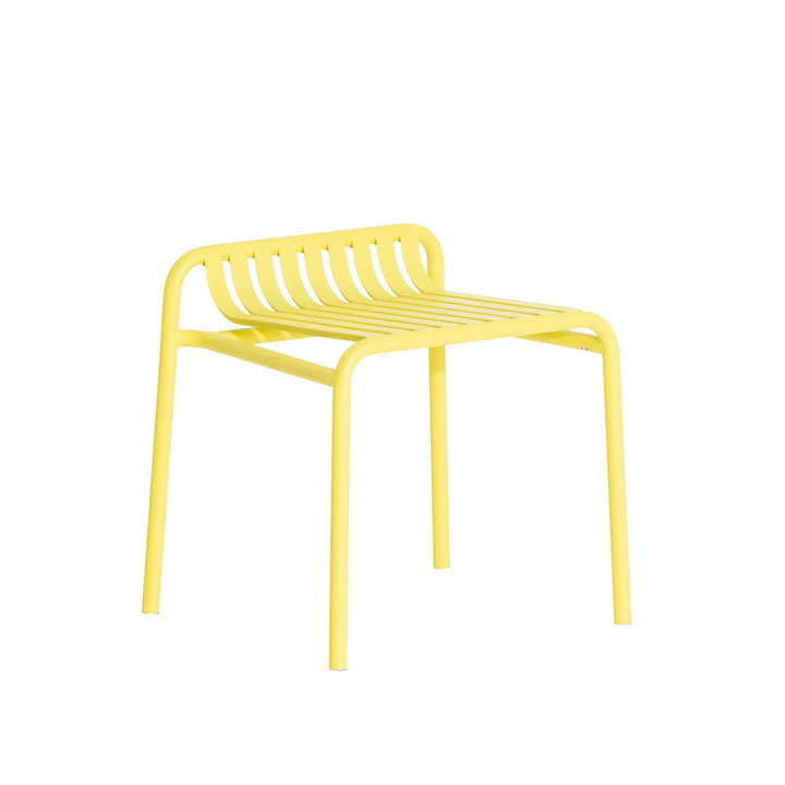 The Week-End Stool Outdoor from Petite Friture , yellow